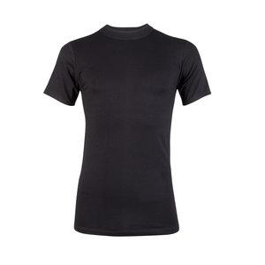 Heren T-shirt met ronde hals Comfort Feeling Zwart