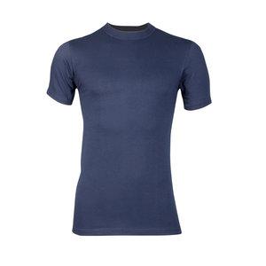 Heren T-shirt met O-Hals Comfort Feeling Marine