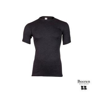 ff3689f5511 Heren Thermo hemd met korte mouw Zwart - Beerenondergoed.nl