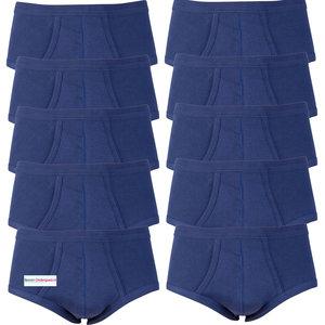 Voordeelverpakking heren slips M3000 Marine