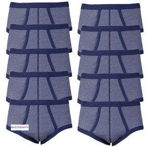 10-pack heren slips Jupiter Blauw