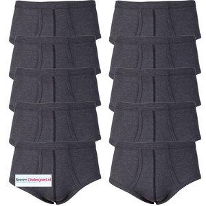 10-pack heren slips M55 Zwart