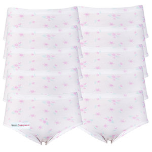 10-pack dames tailleslips Rosa Lila/Roze