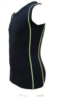5-pack Jongens mouwloos shirt Ricardo groen