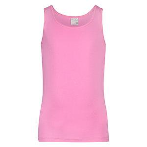 Meisjes hemd breed bandje Comfort Feeling Roze