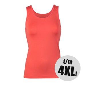 RJ Pure Color Dames shirt Koraal