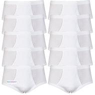 Voordeelverpakking heren slips M3000 Wit