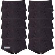 Voordeelverpakking-heren-slips-M3000-Zwart