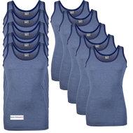 10-pack-Heren-singlets-Jupiter-Blauw