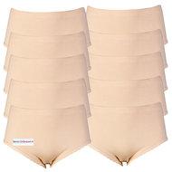 Voordeelverpakking dames slips Belinda Huid (Taille)