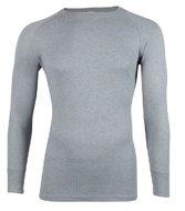Unisex-Thermo-shirt-met-ronde-hals-en-lange-mouw-Grijs