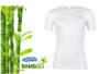 5-Pack Bamboe heren T-shirts K.M. Wit_